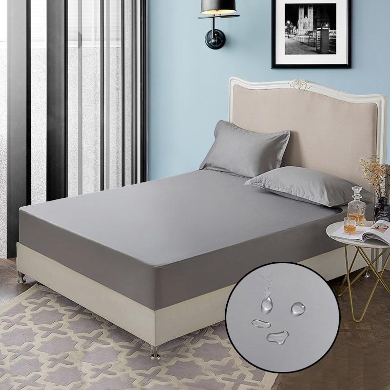 Wasserdicht Matratze Protector Anti-Milbe Matratze Abdeckung Bettlaken Einzel Bett Matratze Wasserdicht Matratze Pad Matratze Protector