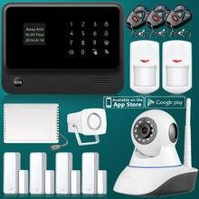 G90B Seguridad GSM WiFi Relé de Seguridad Del Sistema de Alarma con Cámara IP PIR Sensor de Alarma de Puerta Magnética