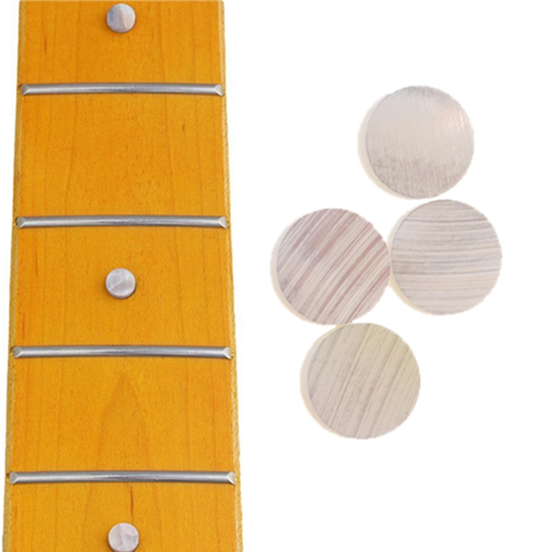 20 Pcs/lot Fingerboard Inlay Dot 6mmx2mm Guitar Dots White Pearl Shell Guitar Accessories Sports & Entertainment