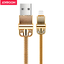Joyroom Steel Micro USB Cable For Xiaomi Samsung Quick Cost USB Information Cable Android Micro usb Charging Cable Cell Cellphone Cable