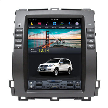 "10.4"" Tesla Android Car Multimedia Stereo Radio DVD GPS Navigation Sat Nav Head Unit for Lexus GX470 GX 470 2004 2005 2006 2007"