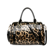 EYUYRYO Designer Purses and Handbags High Quality Patent Leather Luxury Leopard Women Bag Famous Brand Shoulder Bags sac a main