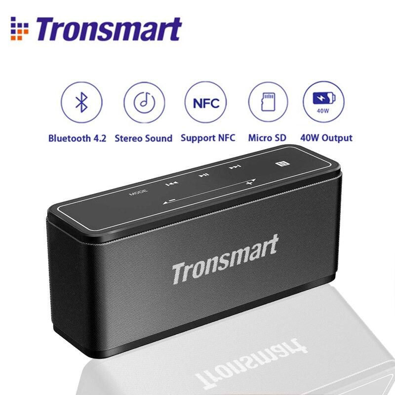 Оригинальное Tronsmart элемент мега Мини Bluetooth Динамик 40 Вт DSP 3D цифровой звук Открытый Портативный Беспроводной Динамик для Xiaomi