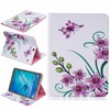 Fashion Flower Tree Series Card Slot Wallet PU Leather Stand Holder Cover Case For Samsung Galaxy