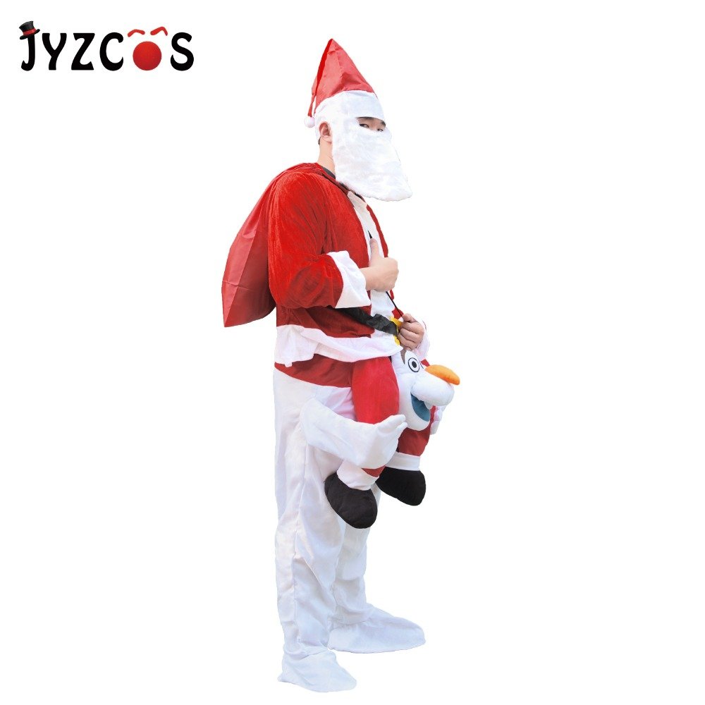 Santa Claus Costume Olaf Mascot Costume (4)