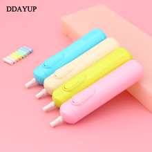 Battery Operated Eraser Electric Automatic School Supplies Leather Stationery Child Day Gift Material Escolar