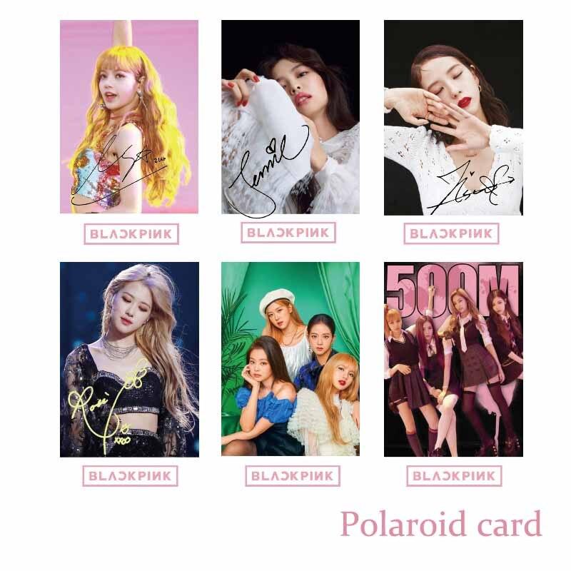 2019 mode Kpop Blackpink exquis boîte cadeau affiche Photocard cadeau Bog et Cd Blackpink Fans cadeau d'anniversaire pour les filles livraison directe - 5