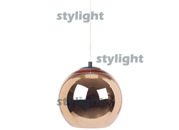 Dia 30cm modern lamp Pendant Lamp Ceiling lamp suspension lighting Free shipping hot selling Copper Shade