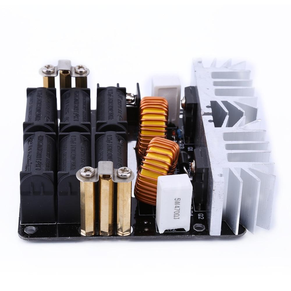 1000W ZVS Low Voltage Induction Heating Board Module/Tesla Voil + coil 12v-48V Hot sale цена