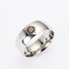 Supernatural Stainless Steel Pentagram Ring