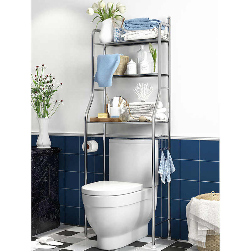 Stainless Steel Over Toilet Storage