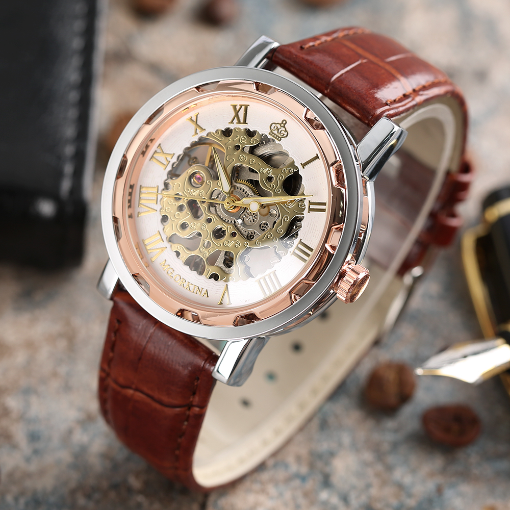 HTB1OTL2QVXXXXc5XFXXq6xXFXXXm - MG.ORKINA Mechanical Skeleton Watch for Men