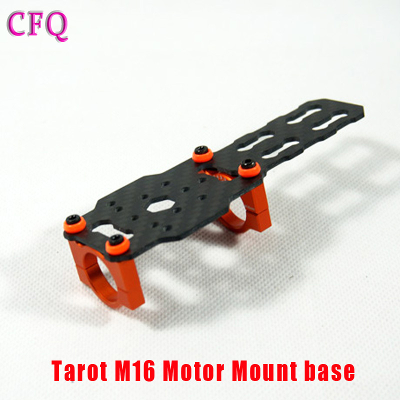 RC Drone Accessoire Quadcopter drone kit Tarot 16mm morto Mount base Orange Blue TL68B08 Tarot 650 mount Plate Drone Diy f04305 sim900 gprs gsm development board kit quad band module for diy rc quadcopter drone fpv
