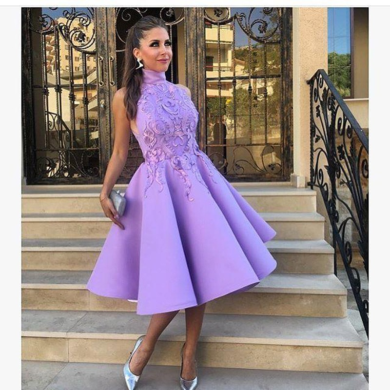Sexy Party Gala Dress Plus Size African Short Prom Evening Dresses Gown 2019