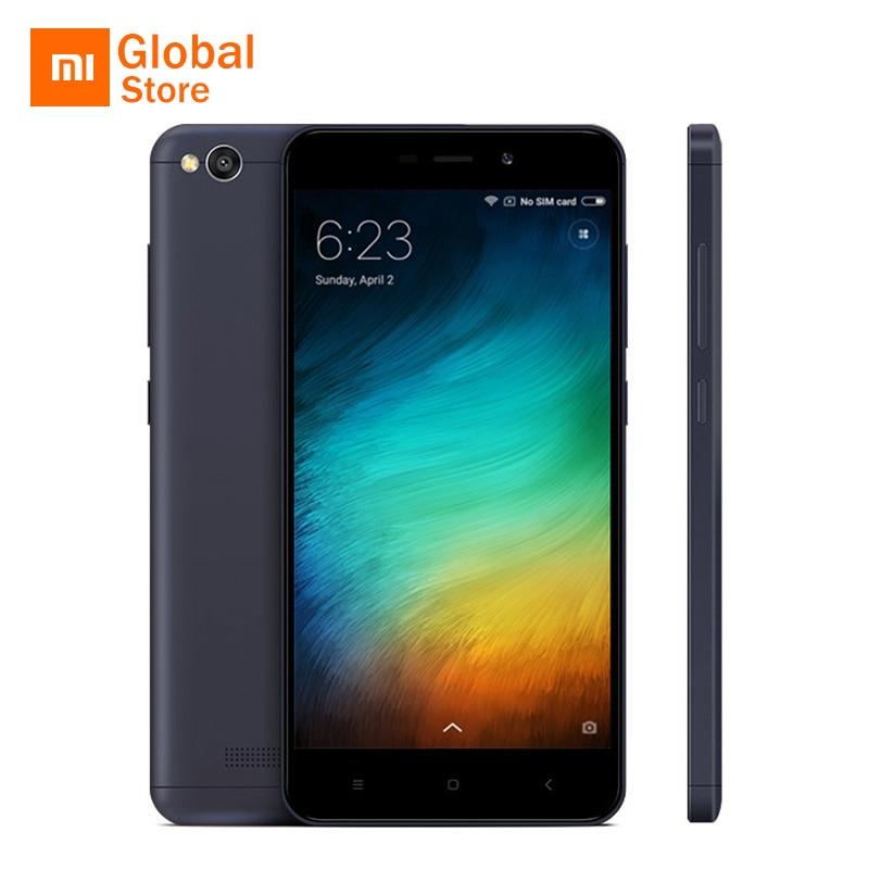 """Оригинальный Xiaomi Redmi 4A 4 2 ГБ 16 ГБ Встроенная память мобильного телефона 5,0 """"4 г LTE Snapdragon 425 4 ядра смартфон 3120 мАч 13MP смартфон"""