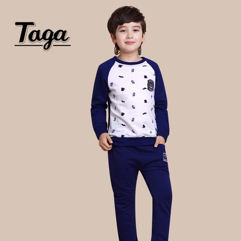 New 2016 Spring Autumn Children Clothes Sets Cotton Long Sleeve Pullover Shirts Pants Sports Suit Casual Boys kid outfit costume штаны для мальчиков 2014 new fashion spring autumn children pants 1 ccc325 casual camouflage trousers for boys sports