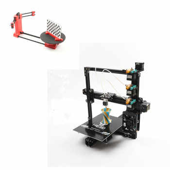 combination sale- EI3 3 in 1 out or 3 in 3 out extruder large print size triple 3D printer kit adding DIY 3D scanner kit - DISCOUNT ITEM  5% OFF All Category