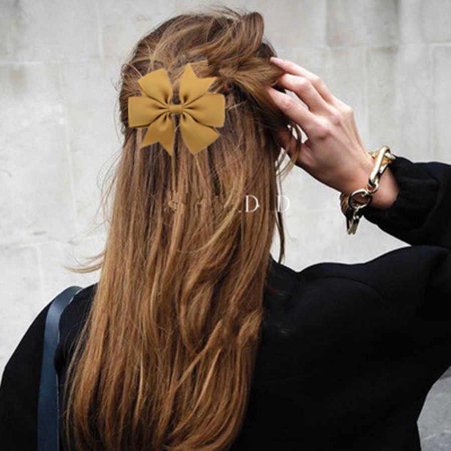 2019 nouvelle mode belle pince à cheveux femmes ruban à Six oreilles avec queue de poisson arc épingle à cheveux coiffure accessoires beauté coiffure outils