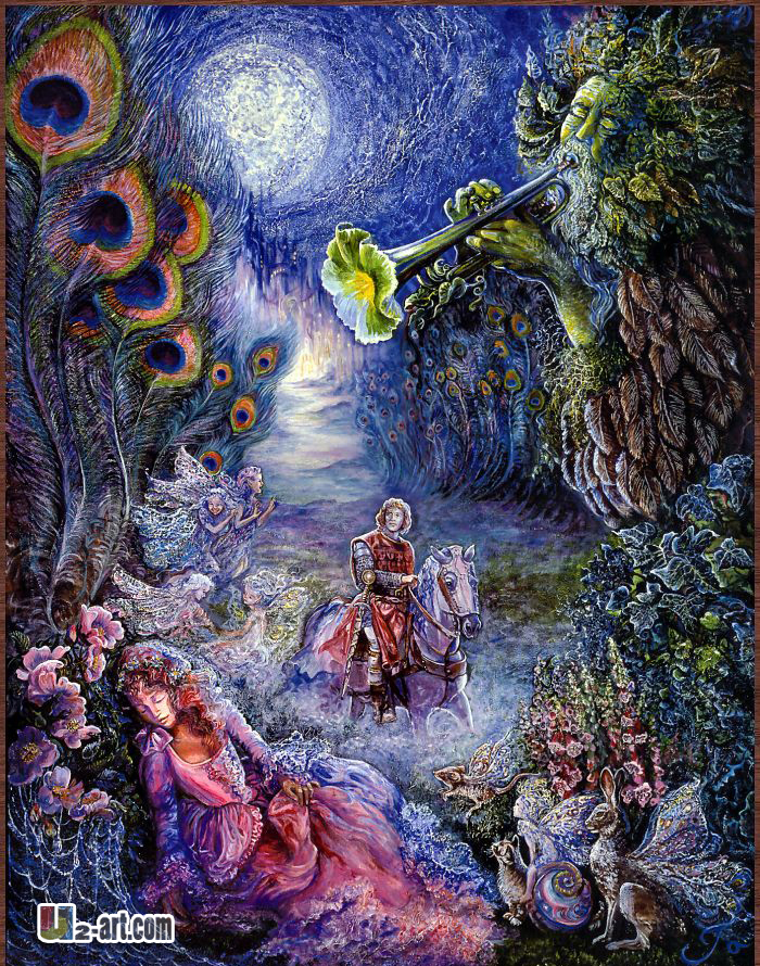 Home Decorative Item Painting Enchanted Forest Canvas Prints Josephine Wall Art Home Decoration .