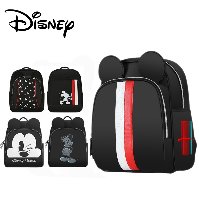 Disney Pre-design Diaper Bag Waterproof Baby Care Nappy Bag Organizer Maternal Backpack Large Multifunction Mickey Minnie Luxury