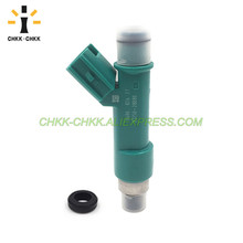 CHKK-CHKK 23209-28080 23250-28080 fuel injector for TOYOTA General AURION, CAMRY, HV 06~11 PREVIA, TARAGO 00~05 2.4L 2AZFE 10set fuel injector repair kits filter removal tool 23250 28080 23250 0h030 fit for toyota corolla camry 2 4l with free ship