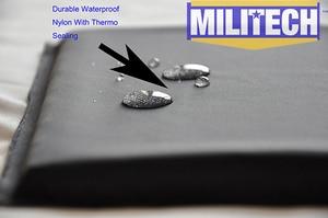 Image 5 - בליסטי פנל פלייט BulletProof NIJ רמת IIIA 3A & NIJ 0101.07 רמת HG2 10x12 Shooters לחתוך ארמיד רך גוף שריון MILITECH