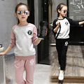 Meisjes Kleding Baby Girls Clothes Spring Suit For Girl Children Sport Suits Shirt + Pant 4 5 6 7 8 9 10 11 12 13 Clothes Set