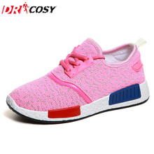 New Brand Women Comfortable Shoes Lace-Up Fashion Breathable Causal Shoes Espadrilles Trainers zapatillas Mujer size 35~40