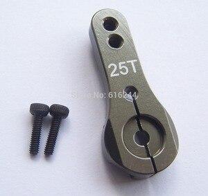Image 3 - 1X DS3225 güncelleme servo 25KG tam metal dişli dijital servo baja servo su geçirmez servo baja arabalar + ücretsiz kargo