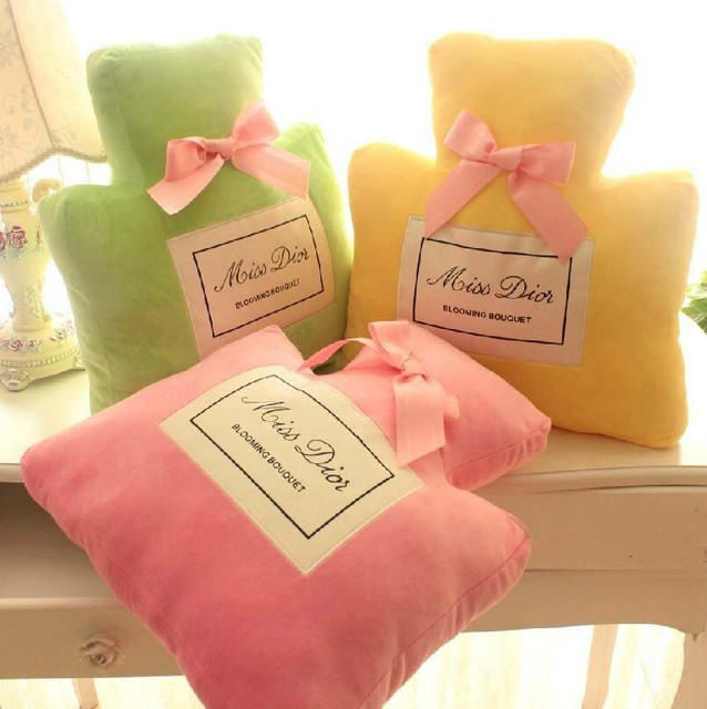 free shipping  new car cushion toys Perfume bottle shape pillow cushion gift present creative home decorative soft pillow