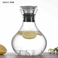 Summer Spherical cold water bottle Juice bottles Lemon glass Suda glasses Milk bottles