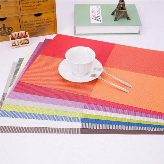 Pc PVC Water Proof Table Mat Food Place Heat Proof Insulated Pad - Heatproof table pad