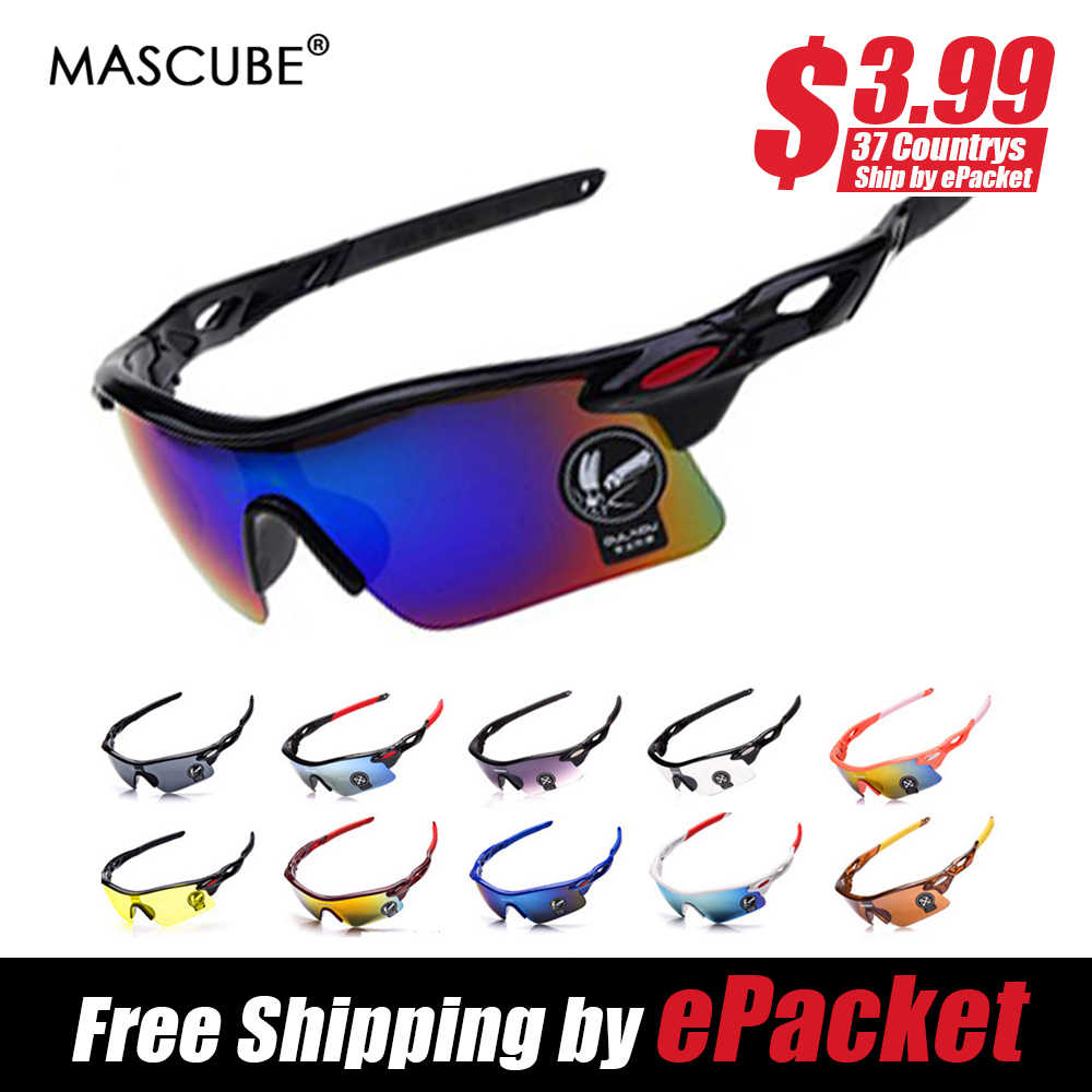 627c5bba32 MASCUBE 2018 New Polarized Cycling Sunglasses Outdoor Sports Bicycle  Glasses Bike Sunglasses Goggles Eyewear Oculos Ciclismo