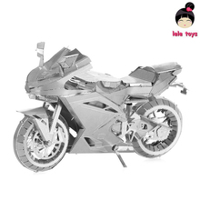 LELEOnline@PIECECOOL Same style ICONX METAL EARTH MOTORCYCLE II 3D Metal model Etching puzzle Assembling DIY originality GIFT