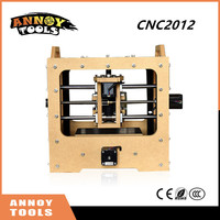 Newest ANNOYTOOLS Mini DIY CNC Engraving Machine 20 12CM Working Area Off Line Carving Function PCB