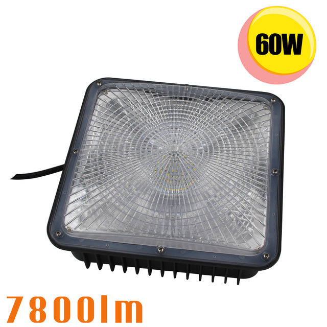 LED Gas Station Light 60W Retrofit 250W Fluorescent