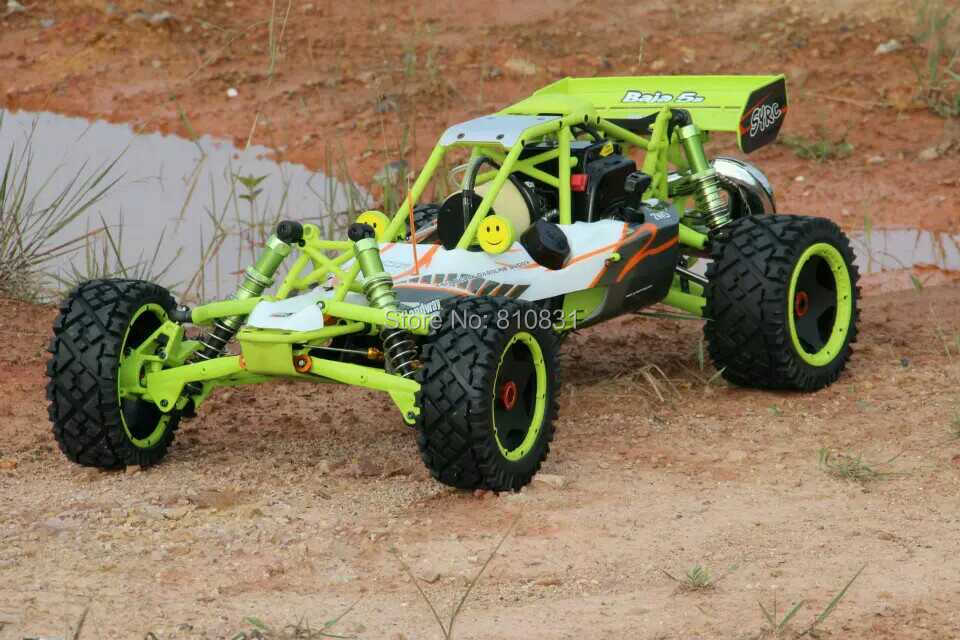 Baja 2WD Buggy Car Nylon And Metal Enhanced Version With 30.5CC Engine RC CAR Better HPI baja