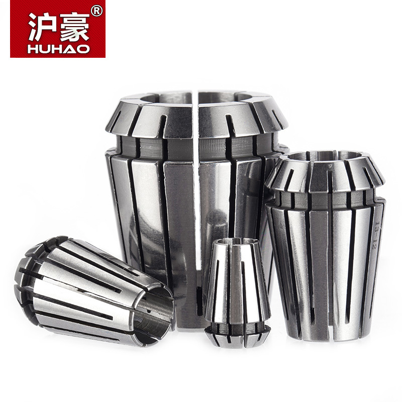 HUHAO 1pc CNC Collet ER20  ER25  ER32 High Precision Collet Chuck For Milling Engraving Machine Repetitious Tsui Flexible er20 nuts for er milling chuck holder nuts for cnc router machine