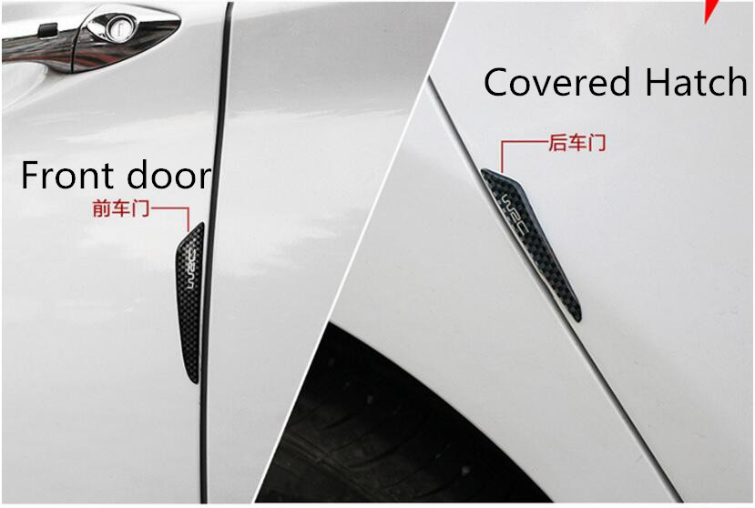 Car Door Side Edge Protection Guards Stickers for lada alfa romeo ford focus 3 chevrolet cruze ford volkswagen opel astra h