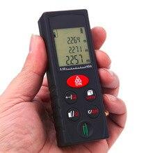 Buy online 1Pc 40/60/80/100m Digital Laser Distance Meter Range Finder Measure Diastimeter
