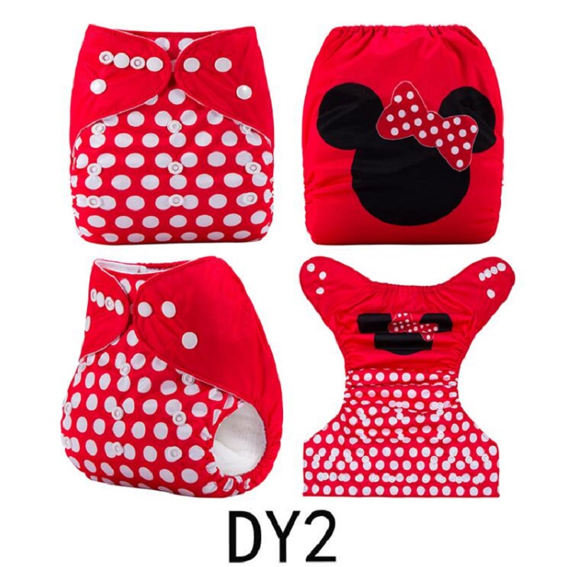 Ananbaby New Baby Cloth Diaper Cover Fitted Diaper Washable Brand Baby Nappy Animal Print Reusable Baby Diapers Lavable HA034S [mumsbest] 3pcs washable waterproof baby nappy pul suit 3 15kgs adjustable boy diaper covers car print design cloth diaper cover