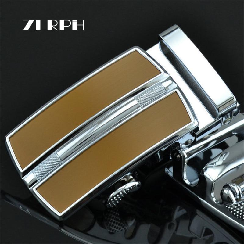 ZLRPH Famous Brand Belt Buckle Men Top Quality Luxury Belts Buckle For Men 3.4-3.6 Cm Strap Male Metal Automatic Buckle
