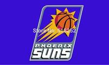 Phoenix Suns Flag 3×5 FT 150X90CM Banner 100D Polyester NBA flag 018, free shipping