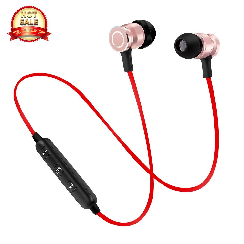 Hot Prodej S6 Značka Bluetooth Sluchátko s Mic Bezdrátová sluchátka Sport Běh Bluetooth sluchátka pro chytrý telefon