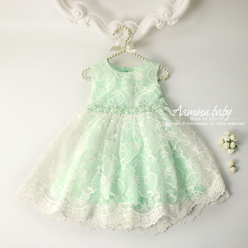 3 Colors Lace Princess Party girls dress Tutu sundress Kids dresses for girls Summer dress wholesale baby girl clothes 2301801 retail fashion summer girl dress sleeveless kids dresses for girl tutu party dress lace polka dot novatx brand girls clothes