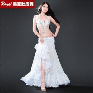 Image 4 - Hot top grade belly dance suit womens belly dance costume fashion belly dance wear clothes belly dancing BRA skirt 8711 Yasmin
