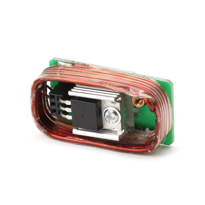 Tesla Coil High Power Generator Of High Voltage With Tesla Commonly Used Coil Motherboard Pipe