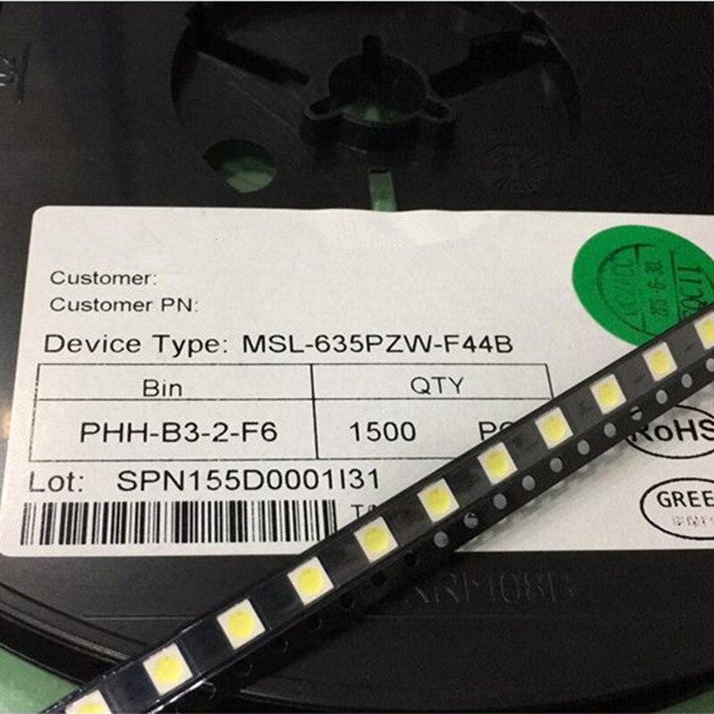 SMD LED 3535 Cold White Backlight LCD TV Maintenance Dedicated 1W 350mA 3V 110LM 100pcs/lot