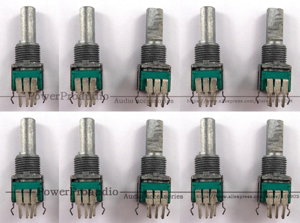 10 Pcs Eq Potentiometer Pot Rotary Control Für Pioneer Djm 700 800 900 Dcs1065 Dcs1100