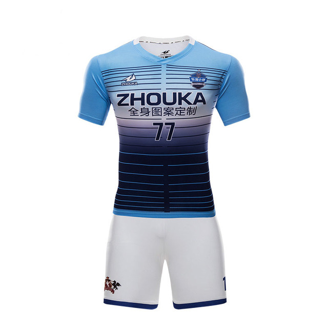28ad46faa Custom best thai quality soccer jerseys polyester quick dry soccer uniforms  sets sublimation men thailand football